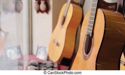 Classical Guitars For Flamenco Dance And Music In Spain - ...
