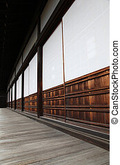 Classical Japanese wooden architecture in Kyoto - Japan