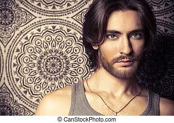 classical male beauty