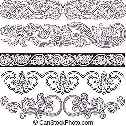 classical ornate elements