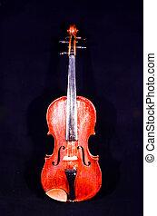 Classical shape wood vintage violin