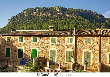 Classical spanish villa