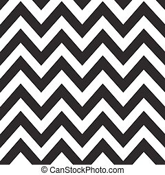 classico, modello, linee, zigzag, vettore, disegno, black.