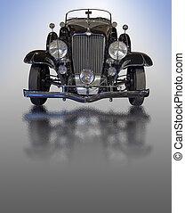 classieke, vintage auto