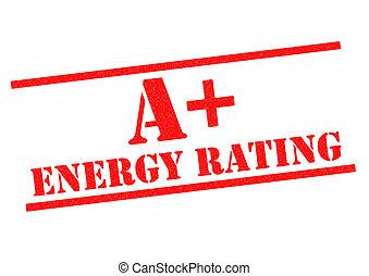 classificatie, een +, energie