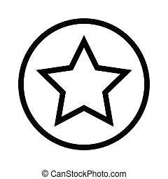 classificatie, vector, lijn, pictogram