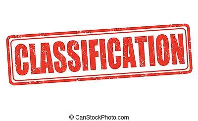classificazione, francobollo