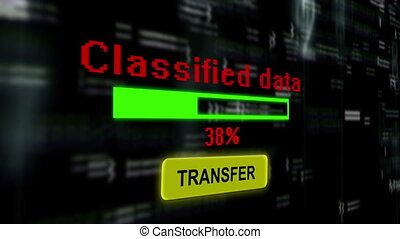 Classified data transfer