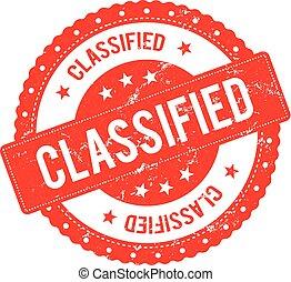 Classified File Seal Certificate