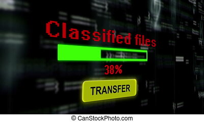 Classified files transfer