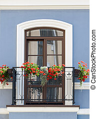 classique, balcon