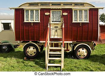 classique, caravane