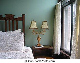 classique, chambre à coucher