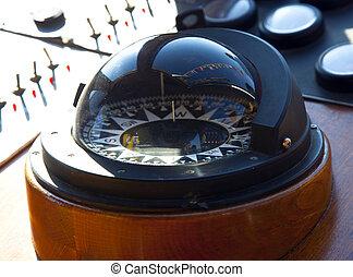 classique, closeup, compas