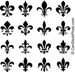 Symbole de fleur lys - Symbole fleur de lys ...