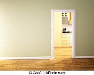 classique, intérieur maison