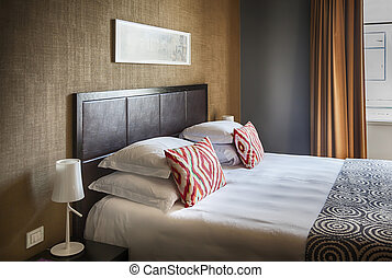classique, salle, hôtel
