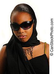 Classy african american girl