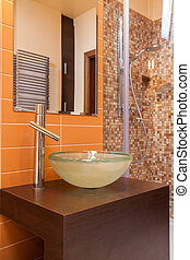Classy house - bathroom equipment - Classy house - round ...