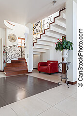 Classy house - hall of bright classic house
