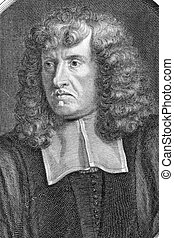 Claude Ballin (1615 -1678) on engraving from 1696. Leading...