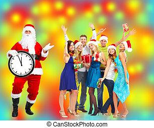 claus., クリスマス, santa
