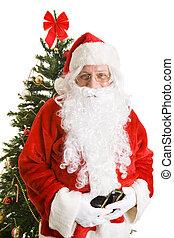 claus, 木, クリスマス, santa