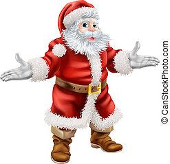 claus, 크리스마스, santa