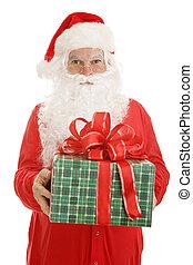 claus, cadeau, kerstman