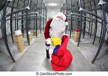 claus, jul, jultomten, förberedande