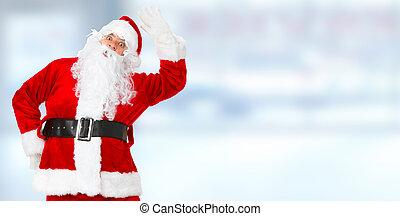 claus, kerstmis, kerstman