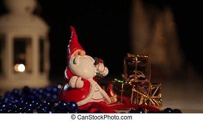 claus, noël, santa, gifts.