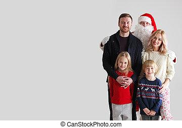 claus, rodzina, święty