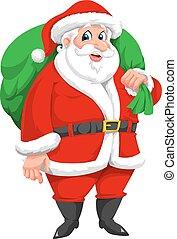 claus, santa, illustration
