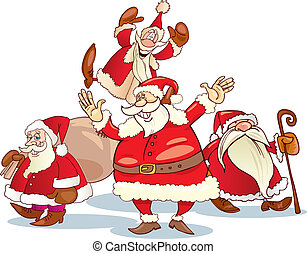 clauses, グループ, santa