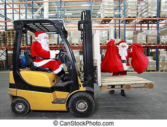 clauses, jul, jultomten, förberedande