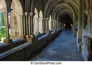 claustro, gótico