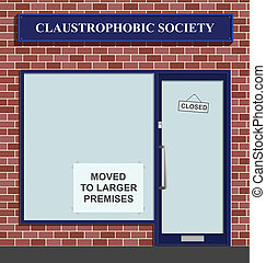 Claustrophobic Society - The Claustrophobic Society moves to...