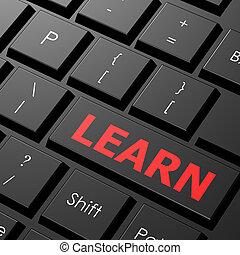 clavier, apprendre