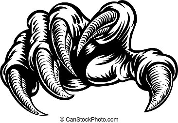 Claw Hand Monster Talons