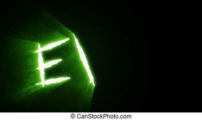Claw Slashes Evil Green