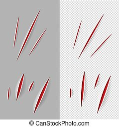 Claws Scratches Set