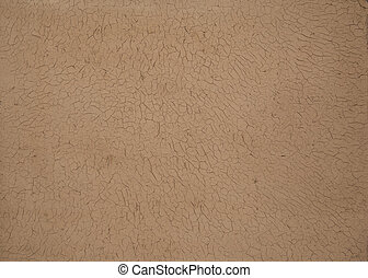 background of dried and cracked clay