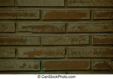 Clay brick wall background texture