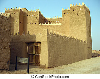 Clay house in Diriyah