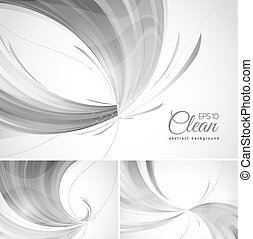 clean abstract background - Clean abstract background. A set...