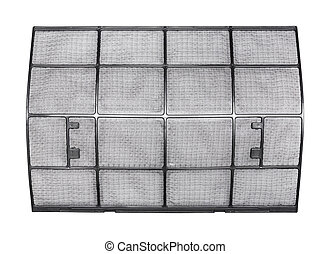 Clean air conditioner filter