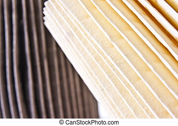 Clean and Dirty Air Filters - A comparison of clean and...