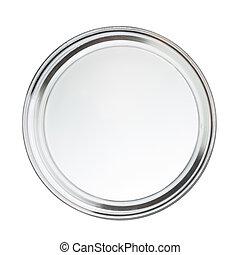 Clean closed empty petri dish