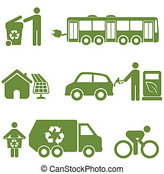 Clean energy, recycling and environment